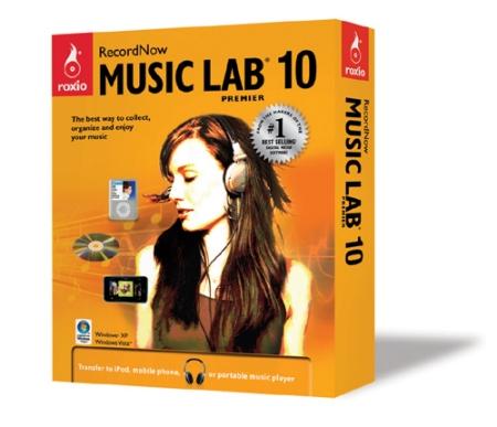 RecordNow Music Lab 10