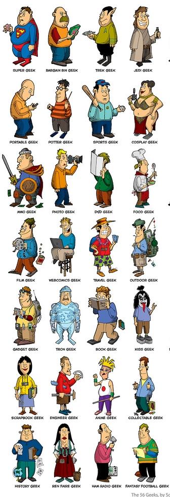 Tipos de geeks