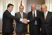 Acuerdo Ministerio de Industria Turismo Comercio-La Caixa-HP-Microsoft-mit