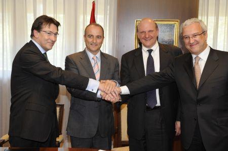 Acuerdo Ministerio de Industria Turismo Comercio-La Caixa-HP-Microsoft