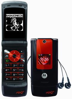 Celular Motorola - Disco Babasonicos