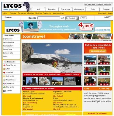 Lycos toonstravel