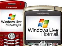 Windows Live en los dispositivos Blackberry