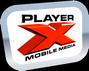 PlayerX logo RGB