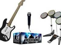 Rock Band añade instrumentos a los juegos musicales