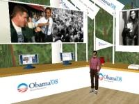 Second Life resucita con la campaña electoral estadounidense