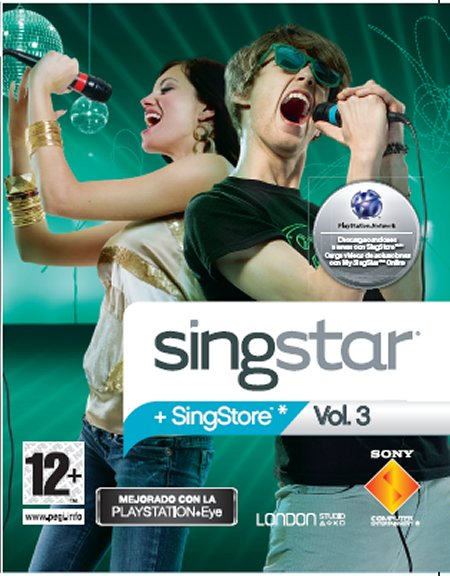 PS3 SINGSTAR Vol 3