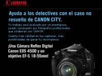 Canon lanza un videojuego online, 'El caso no resuelto de Canon City'