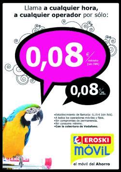 Campaña Móvil Ahorro Eroski