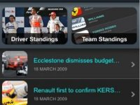 Go Go Go! – F1 2009 News, Videos, Stats & Info, la F1 en el iPhone