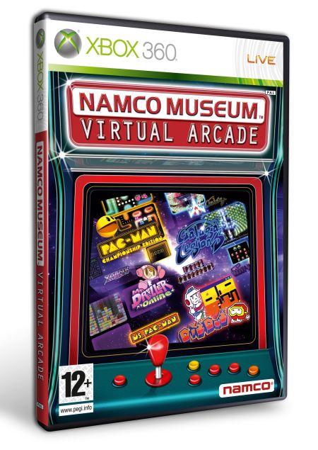 Carátula Namco Museum