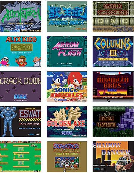 juegos mega drive video