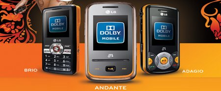 moviles musicales LG