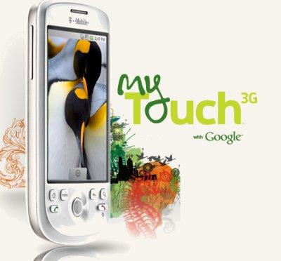 """My Touch"", un nuevo móvil de T-Mobile con Android"