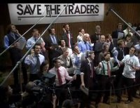 save the traders