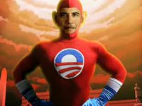 barack obama superheroe