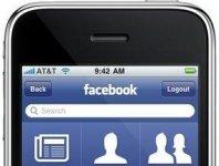 facebook iphone portada