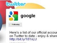 google twittter