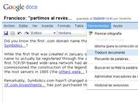 Google Docs ya tiene servicio de traducción en 42 idiomas