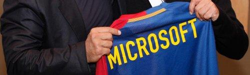 microsoft FC Barcelona cap