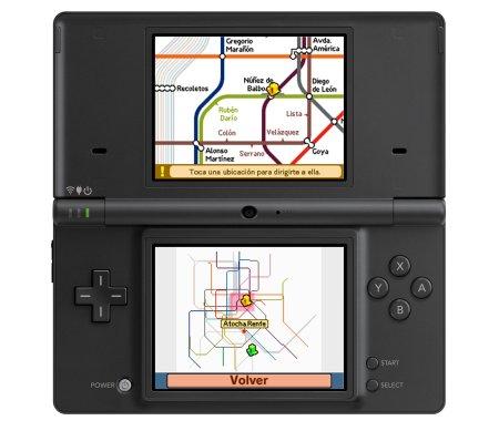 nintendo DS Mapas