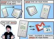 google push Gmail