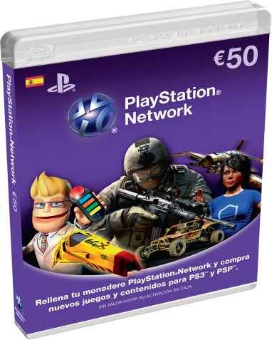 PlayStation Network Cards 50