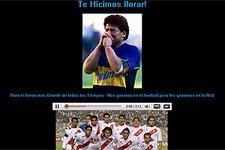 Hackers invaden el sitio web de Diego Maradona