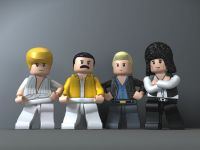 Queen en Lego Rock Band (video)