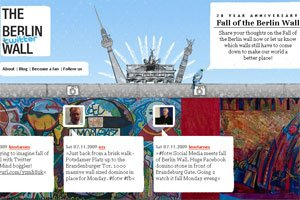 El muro de Berlín se rearma en la web 2.0
