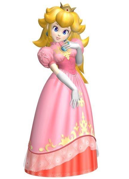 Princesa Peach - Mario Bros