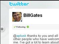 Bill Gates, la nueva estrella de Twitter