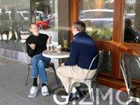 Gizmodo pilla a Eric Schmidt y Jobs desayunando juntos.