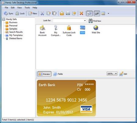 Handy Safe Desktop Professional