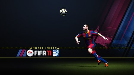 Iniesta Action Poster