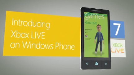 xbox live windows phone 7