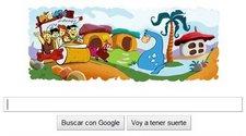 """Nuevo Doodle: Google grita """"¡Yaba Daba Doo!"""""""