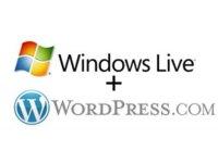 windows live + wordpress