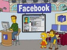 facebook simpsons