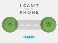 i cant find my phone