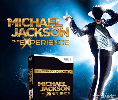 Edición Coleccionista de Michael Jackson The Experience para Wii