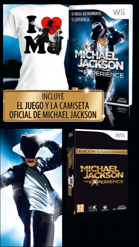 Michael Jackson The Experience para Wii.