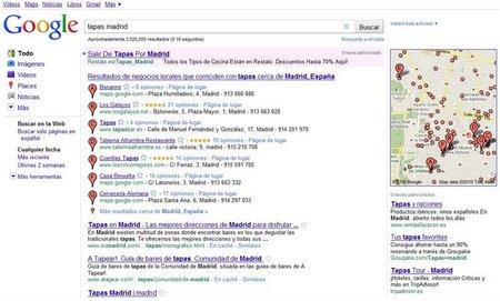 Google lanza 'Búsqueda de lugares'
