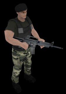 mercenarios videojuego iPhone
