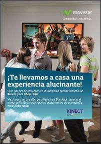 Movistar y Microsoft te montan la fiesta Kienect en casa