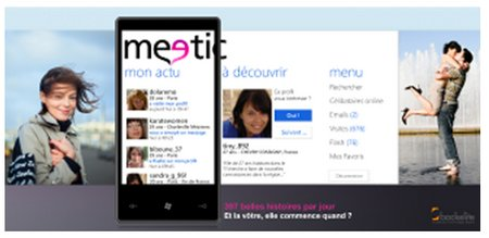meetic Windows Phone 7