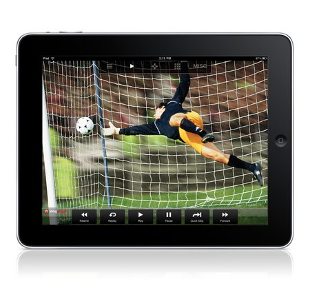 SlingPlayer Mobile transforma el iPad en una TV