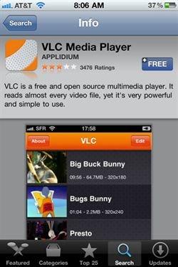 VLC iphone