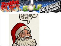 Fat Santa Special! la oferta de fin de año de Full Fat Games