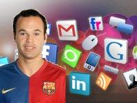 Iniesta, Torres, Nadal y Alonso son los deportistas más importantes en Internet